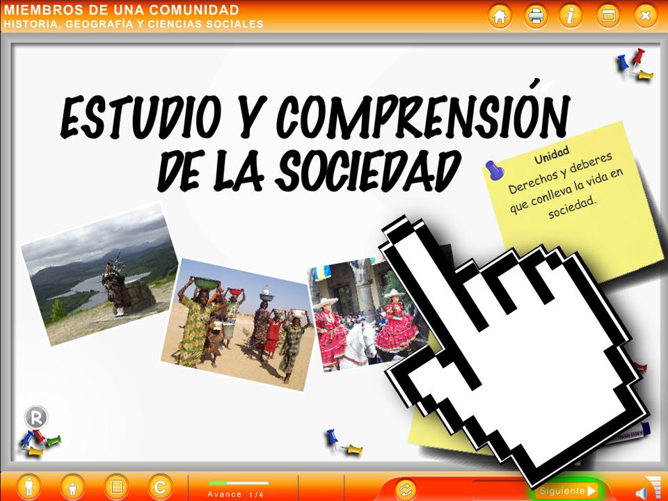 ODA Miembros de Una Comunidad – EducarChile