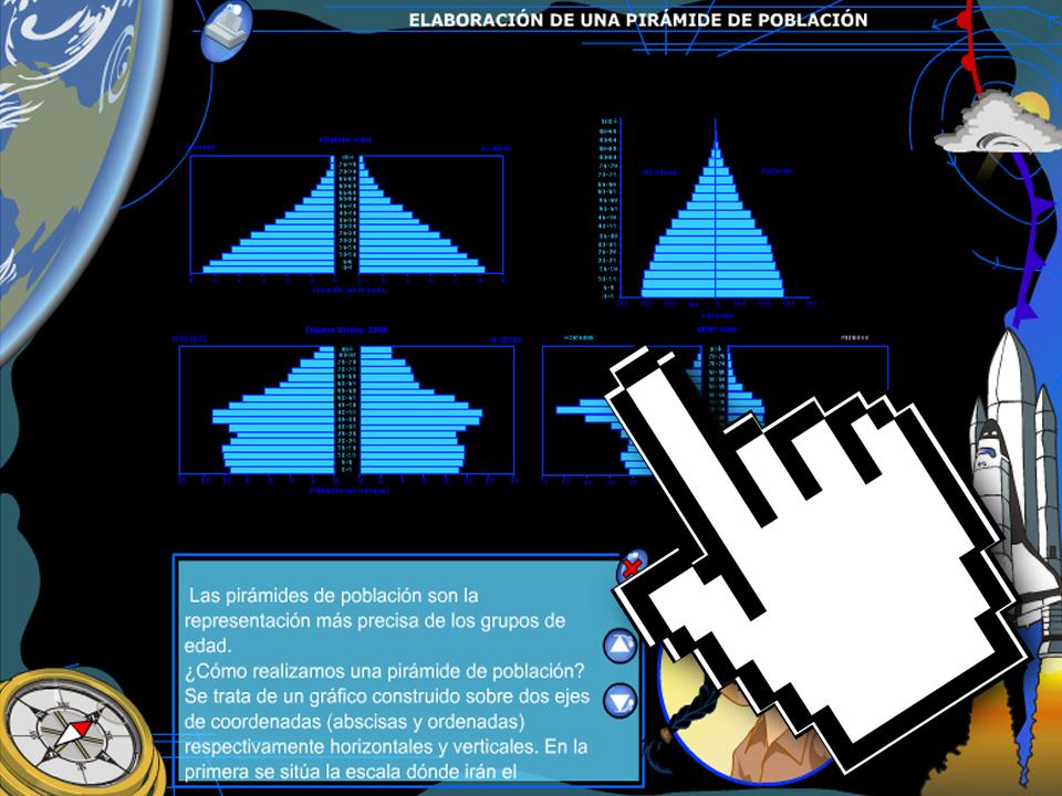 Elaboración de una Pirámide de Población – Junta de Extremadura