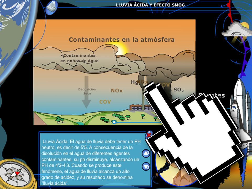 Lluvia Ácida y Efecto Smog – Junta de Extremadura