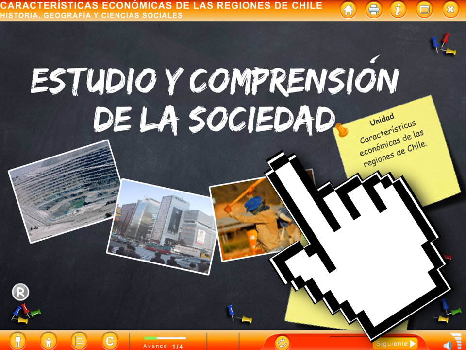 ODA Características Económicas de las Regiones de Chile - EducarChile