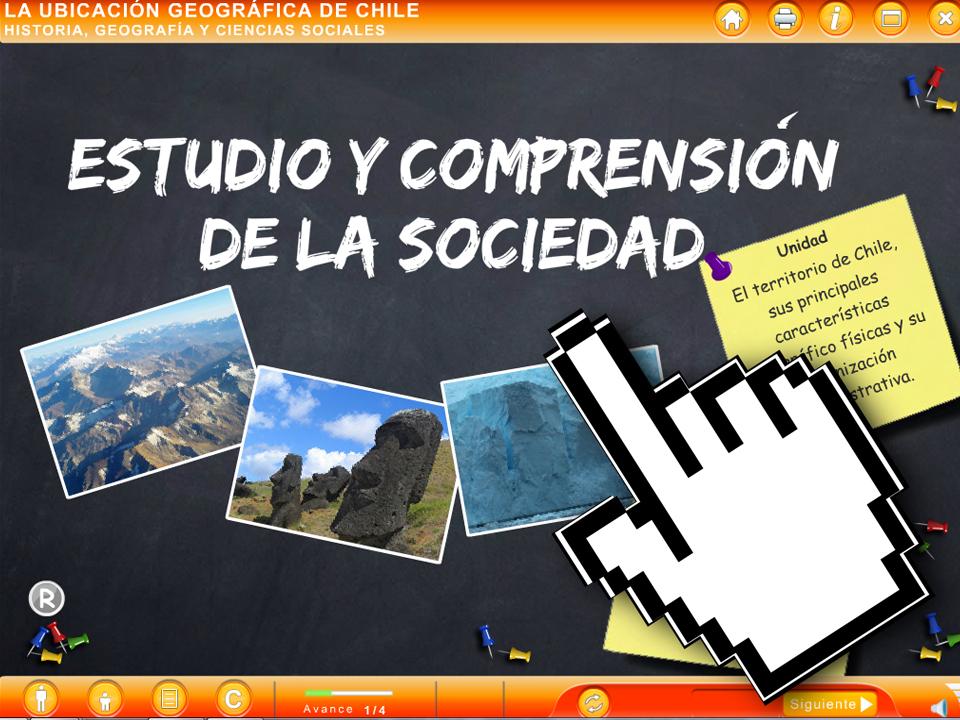 ODA La Ubicación Geográfica de Chile - Un Lugar Lleno de Particularidades  - EducarChile