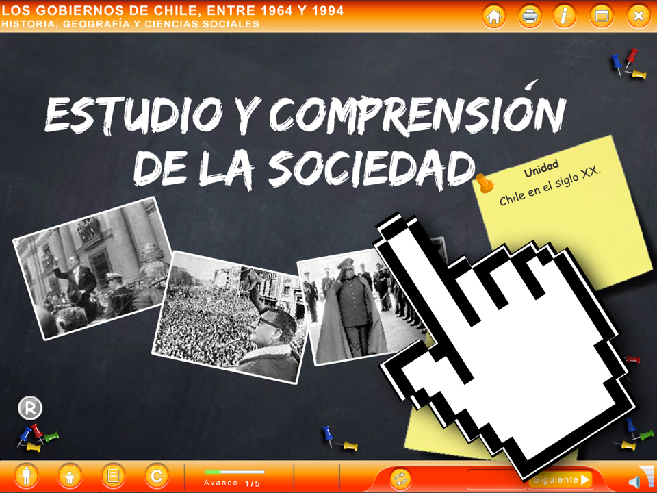 ODA Los Gobiernos de Chile Entre 1964 y 1994 - EducarChile