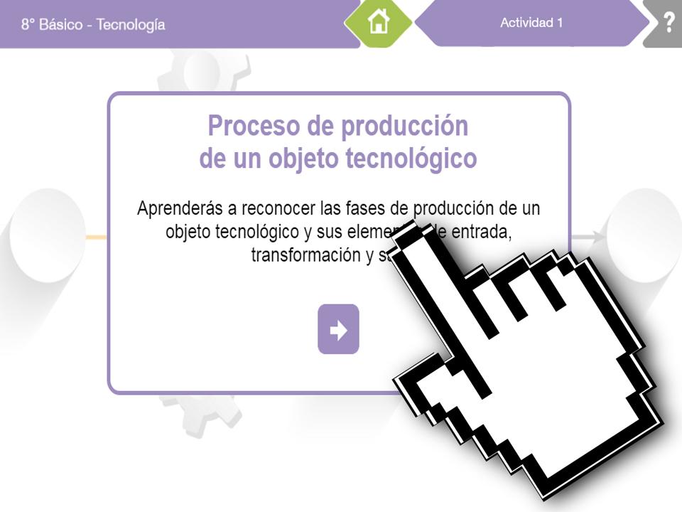OB Economía – Proceso de Producción de un Objeto Tecnológico – EducarChile