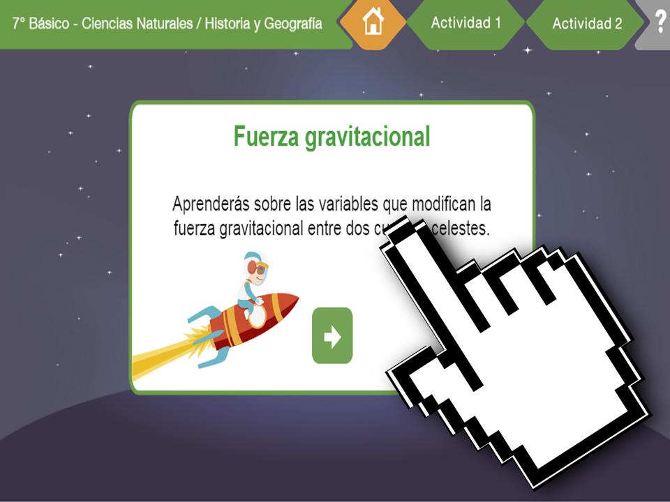 OB Geografía – Fuerza Gravitacional – EducarChile