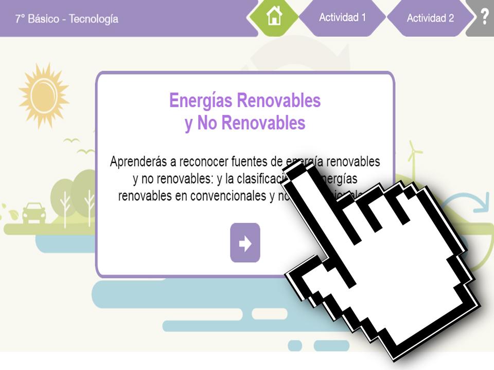 OB Geografía – OB Economía – Energías Renovables y No Renovables – EducarChile