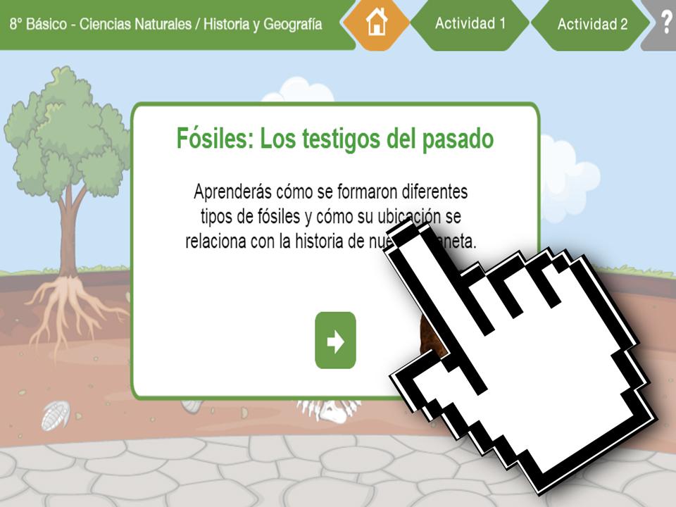 OB Geografía – OB Historia – Fósiles – Testigos del Pasado – EducarChile