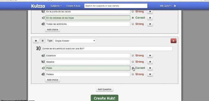 Videotutorial Para Crear Test Evaluativos con Kuizza